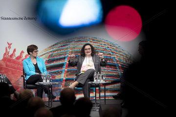 Kramp-Karrenbauer  Nahles - Politics talk