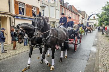 Pferdeprozession in Warendorf