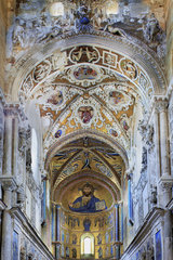 Apsis  Kathedrale von Cefalu  Sizilien  Italy