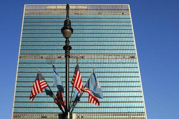 Glaspalast  UNO Hauptsitz  New York  USA