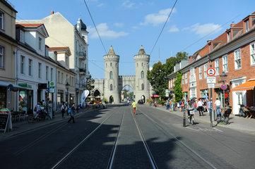 Potsdam  Deutschland  Nauener Tor im Hollaendischen Viertel