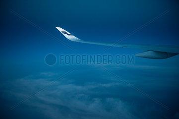 Helsinki  Finnland  Flug mit Finnair von Singapur nach Helsinki