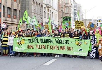 Demo fuer klimafreundliche Landwirtschaft