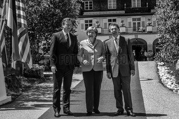 Cameron + Merkel + Sauer