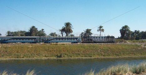 Nil Eisenbahn Aegypten