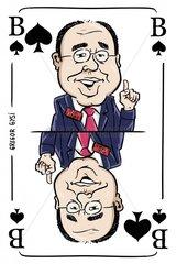 Serie Kartenspiel Pikbube Gregor Gysi