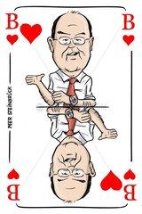 Serie Kartenspiel Herzbube Peer Steinbr_ck