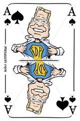Serie Kartenspiel Pikas Guido Westerwelle