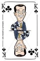 Serie Kartenspiel Kreuzkoenig Karl Theodor zu Guttenberg