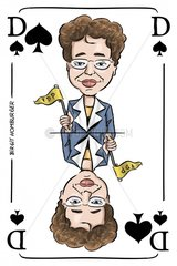 Serie Kartenspiel Pikdame Birgit Homburger