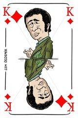 Serie Kartenspiel Karokoenig Cem Oezdemir