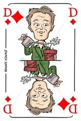 Serie Kartenspiel Karodame Renate K_nast