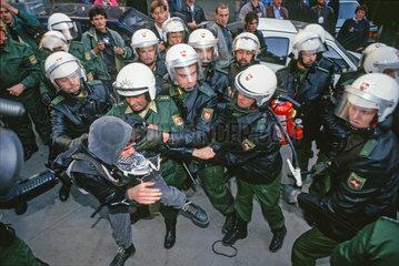 Polizeieinsatz b.Tag der Dt. Einheit