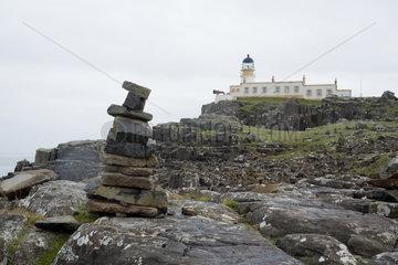 Kylehea  Grossbritannien  der Leuchtturm von Neist Point auf der Isle of Skye