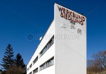 Wien  Oesterreich  die Wiener Werkbundsiedlung