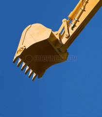 Bulldozer cutout