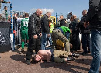 Ausschreitungen beim FC Magdeburg