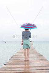 Bei Wind und Wetter