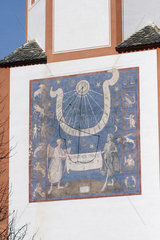 Sonnenuhr am Kloster Andechs