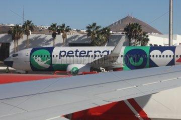Peter-Pan-Flugzeug von Transavia