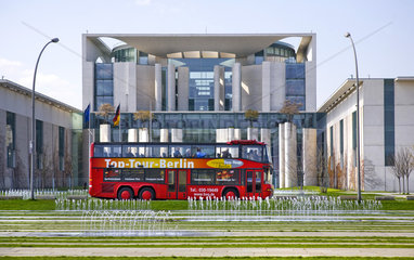 Berlin - Touristenbus