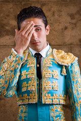 Sevilla  Spanien  spanischer Stierkaempfer Perez Mota