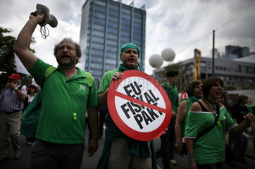 Blockupy Frankfurt Demonstration
