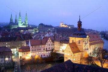 Stadtansicht von Bamberg in Oberfranken