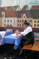 Bayer beim Oktoberfest in Muenchen