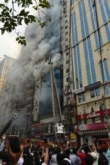 BANGLADESH-DHAKA-FIRE