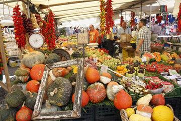Marktstand in Rom