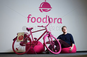 Berlin  Deutschland  Julian Dames  Foodora Mitgruender