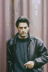 AUSTER  Paul - Portrait of the author