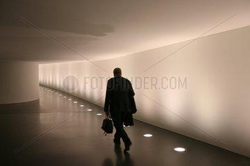 Berlin  Verbindungstunnel vom Paul-Loebe-Haus zum Reichstag