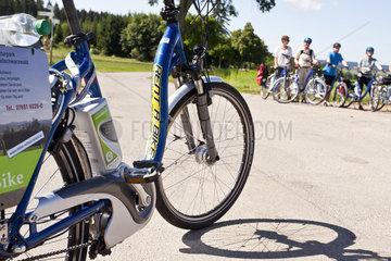 Mit dem E-Bike auf dem Schwarzwald Panoramaweg