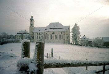 Die Wieskirche in Wies  Gemeinde Steingaden.