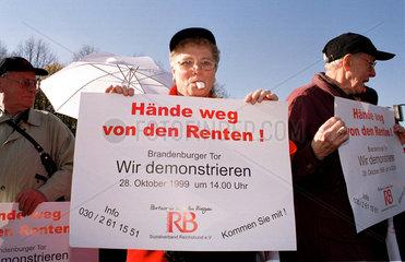 Renten-Demo