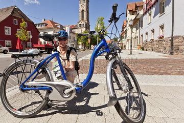 Mit dem E-Bike auf dem Panorama Radweg im Schwarzwald