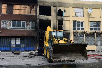TURKEY-ANKARA-FIRE