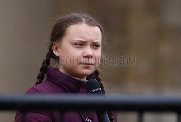 Greta Thunberg - Friday for Future Demonstration Berlin
