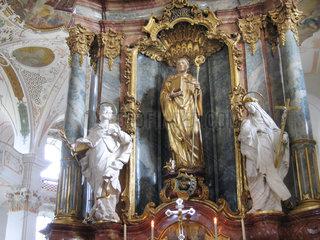 Benediktiner Erzabtei St. Martin zu Beuron im Oberen Donautal bei Sigmaringen.