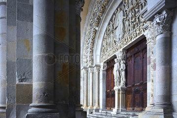 Kathedrale Saint Lazare  Autun  Burgund  France