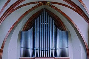 Orgel im Gewoelbe