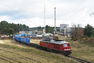 Deutschland  Rueckbau vom DDR-Kernkraftwerk Rheinsberg