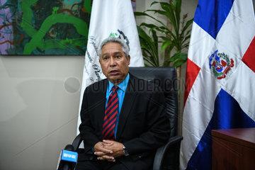 DOMINICAN REPUBLIC-SANTO DOMINGO-ISIDORO SANTANA-INTERVIEW