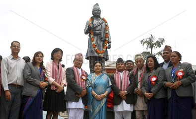 NEPAL-LALITPUR-ARNIKO-STATUE