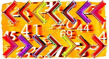 g_sser kleiner gleiche Pfeile Zahlen
