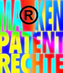 Markenrechte Patenrechte Marken Patente Patentamt Typo