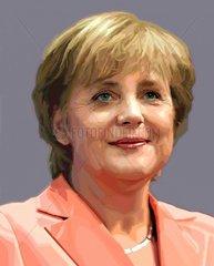 Angela Merkel Politik Bundeskanzlerin CDU Serie Portraits