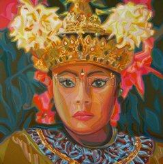 BALI Indonesien Serie Gesichter der Erde Maedchen
